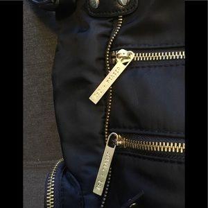 [olivia + joy] black nylon crossbody bag